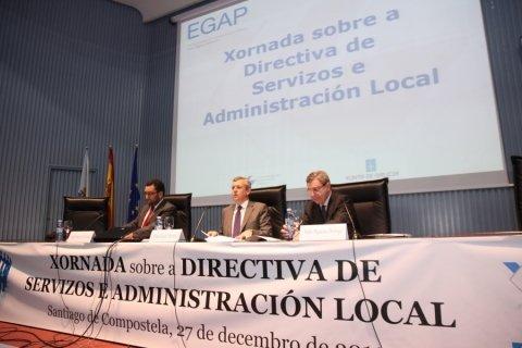 Inauguración - Xornada sobre a Directiva de Servizos e a Administración Local